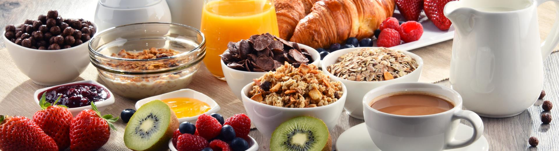 Free breakfast for Gold, Platinum, Diamond and Diamond Select Best Western Rewards® members