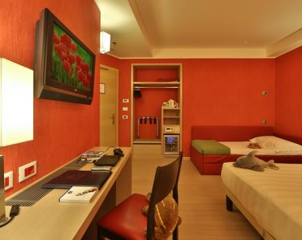 Looking for a family hotel in the Centre of Genoa? Book Best Western Hotel Porto Antico di Genova, newly renovated rooms designed to accommodate families with children in your stay in Genoa.